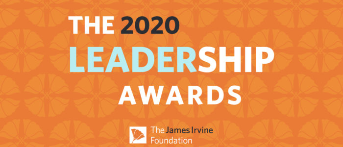 MyPath Irvine Leadership Award 2020 Recipient
